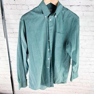 Green Pinstripe Shirt